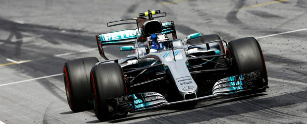 Bottas castiga lejer in Austria. Vettel incheie pe 2 si isi extinde avansul in clasament