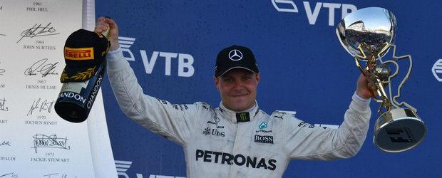Bottas incoronat tar in Rusia. Finlandezul a castigat prima sa cursa de F1 din cariera