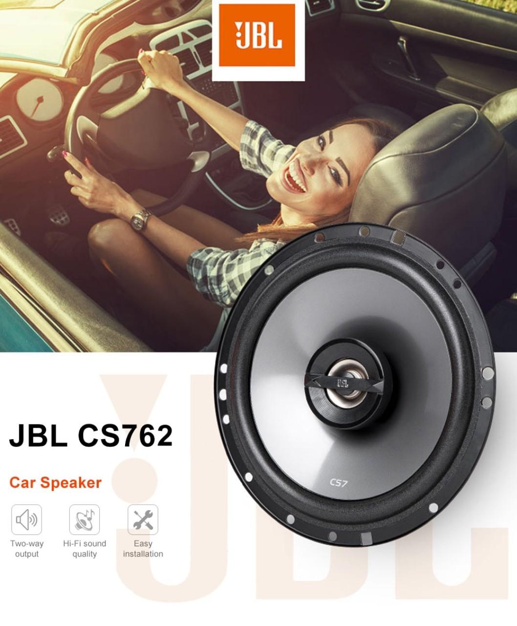 Boxe auto coaxiale JBL CS-762 16.5cm 135W putere maxima 45W RMS - pereche
