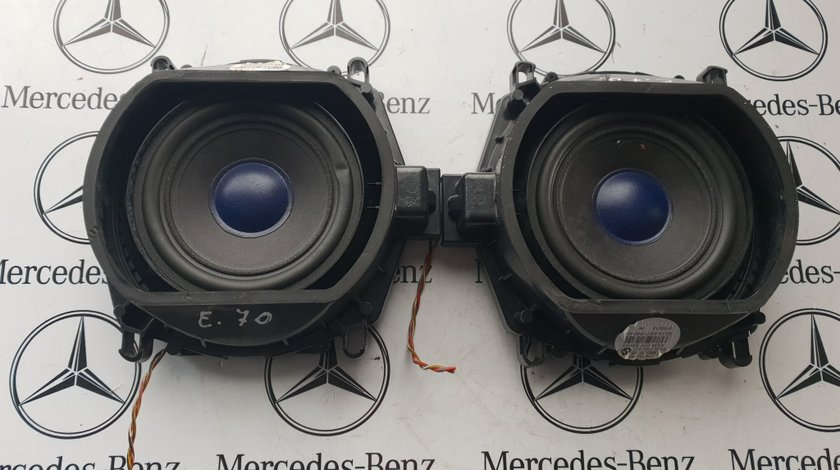 Boxe bass bmw x5 e70 set