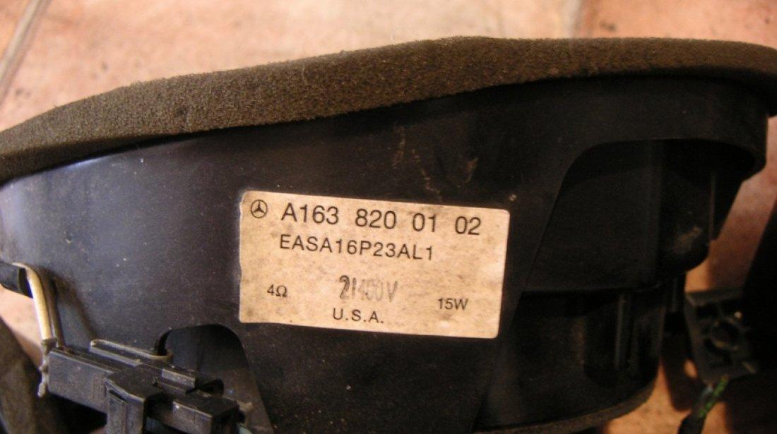 Boxe difuzoare Mercedes ML W163 (2000-2005)