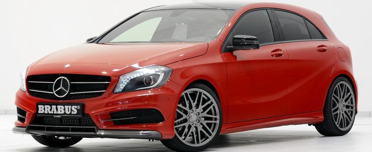 Brabus a modificat noul Mercedes-Benz A-Klasse