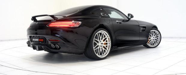 Brabus aduce la Frankfurt o frumusete de Mercedes AMG GT S