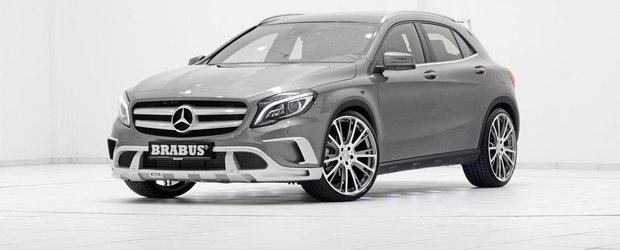 Brabus anunta primul pachet de tuning destinat noului Mercedes GLA