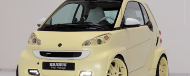 "Brabus ""electrizeaza"" micul Smart: ForTwo Unlimited High Voltage"