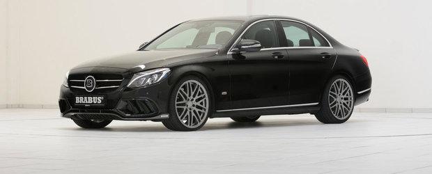 Brabus ia la modificat noul Mercedes C-Class W205