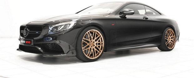 Brabus indeasa 850 CP si 1.450 Nm sub capota noului Benz S63 AMG Coupe