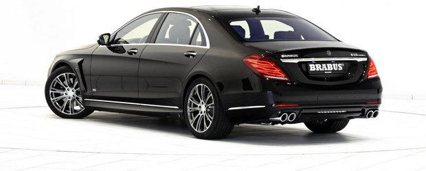 Brabus isi trece pe lista cu reusite si hibridul Mercedes S500