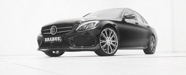 Brabus modifica noul Mercedes C-Class cu pachet AMG