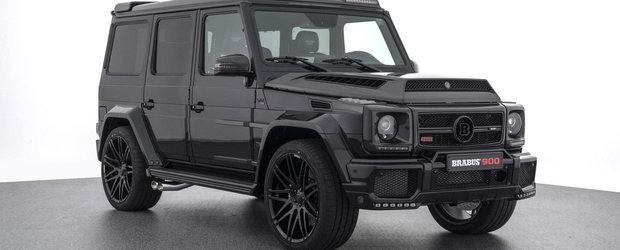 Brabus o face lata din nou. Mercedes-ul G65 are acum 888 de cai si costa 666.000 de euro