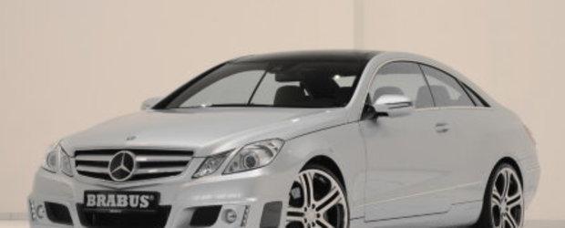 Brabus tuneaza noul E-Class Coupe