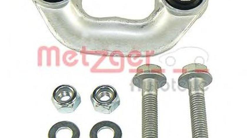 Brat/bieleta suspensie, stabilizator AUDI A4 Cabriolet (8H7, B6, 8HE, B7) (2002 - 2009) METZGER 53007511 piesa NOUA