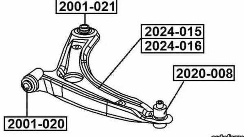 Brat suspensie roata JEEP COMPASS MK49 Producator AKUSAN SS59945