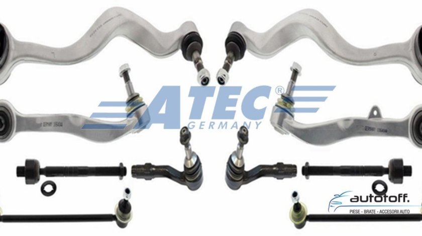 Brate directie BMW E60 E61 seria 5 kit complet 10 piese fata import Germania