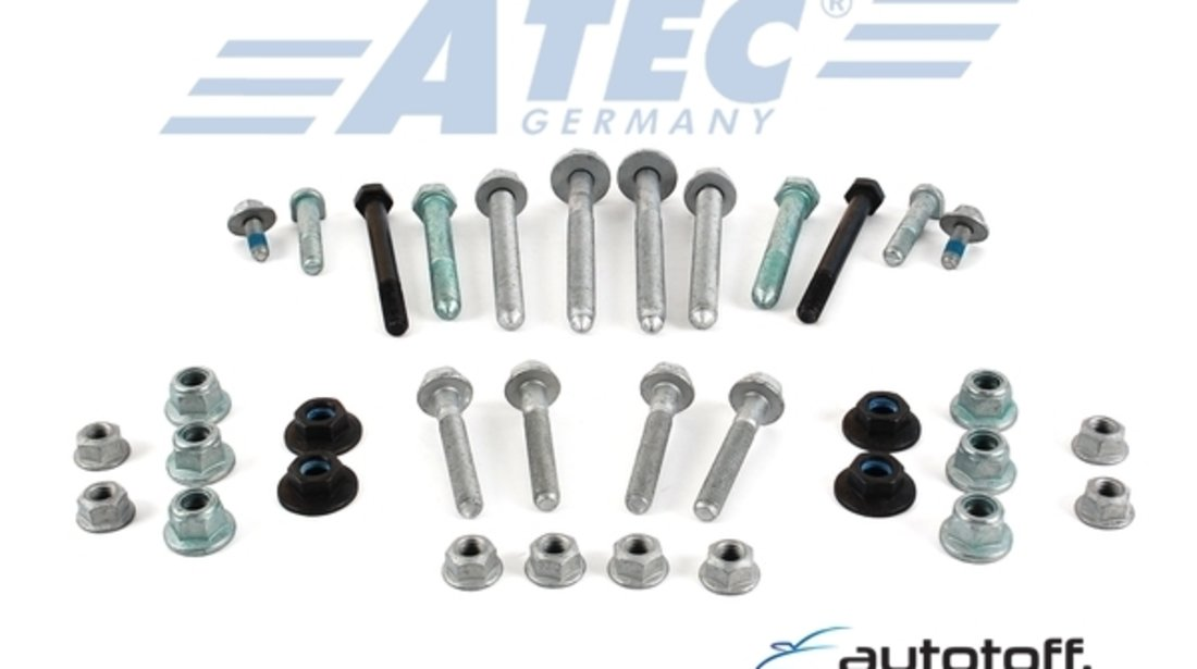 Brate kit 12 piese Audi A6 C5 VW Passat 3BG Skoda Superb 3U4 HD-VERSION ATEC Germania