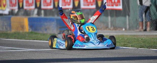 Bravo! Romanii ocupa podiumuri in campionate internationale de karting!