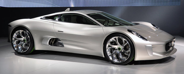 Breaking News: Spectaculosul Jaguar C-X75 Concept intra in productia de serie!