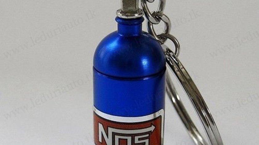Breloc mini Butelie NOS Nitrous Oxide Systems NITRO