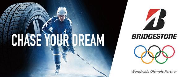 """Bridgestone sprijina Jocurile Olimpice de Iarna 2018 si transmite un mesaj important intregii planete: """"Chase Your Dream!"""""""