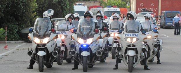Brigada Rutiera Bucuresti si Mercury360 ii invata pe cei mici ca strada nu e de joaca