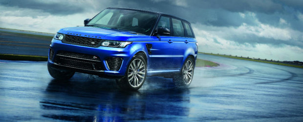 Britanicii ameninta Germania cu un Range Rover Sport SVR de 550 CP