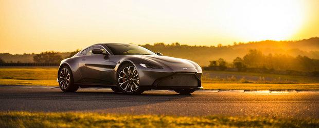 Britanicii au o noua perla. Aston Martin Vantage s-a lansat azi cu 510 cai si motor Mercedes-AMG