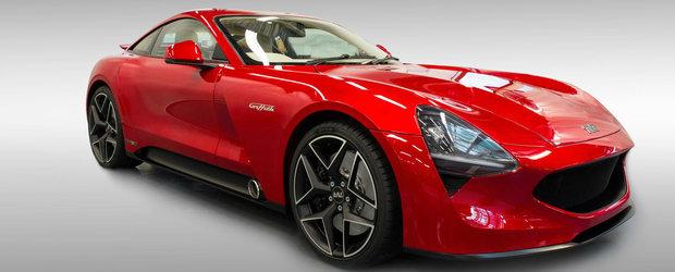Britanicii au reinviat brand-ul TVR. Primul model din noua era se numeste Griffith si are un V8 de 507 cai