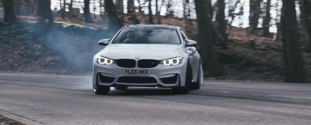 Britanicii pun la incercare noul BMW M4 Competition. Cum se descurca sportiva bavareza de 450 CP