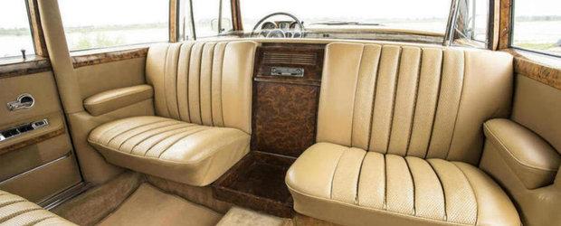 Britanicii scot la licitatie un Mercedes 600 Pullman