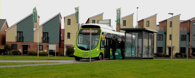 Britanicii se vor plimba in autobuze electrice