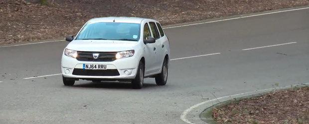 Britanicii testeaza noua Dacia Logan MCV. Ce parere au despre masina