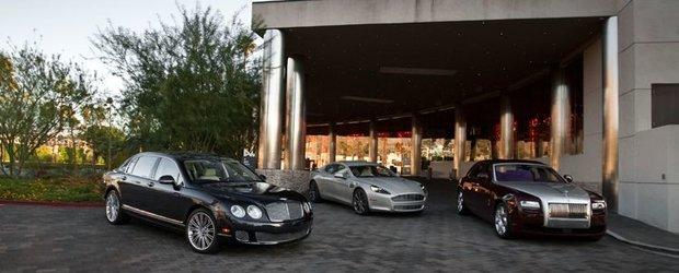British War: Rolls Royce Ghost vs. Bentley CFS Speed vs. Aston Martin Rapide