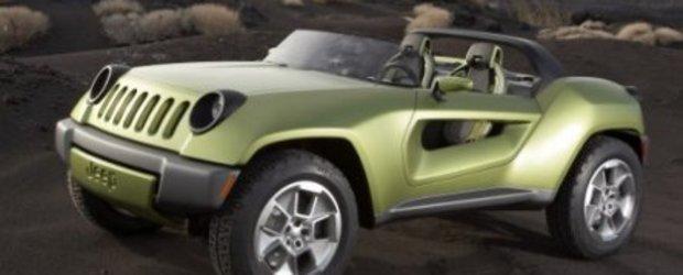 Broscuta rebela de la Jeep