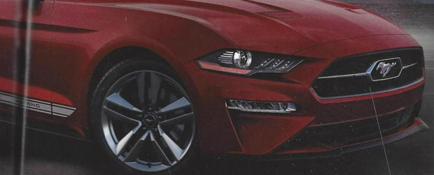 Brosura noului Mustang scoate la iveala o grila cromata si alte cateva optiuni extrem de interesante