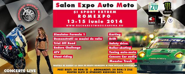 Bucharest Wheels Arena 2014, festival auto-moto si sporturi extreme
