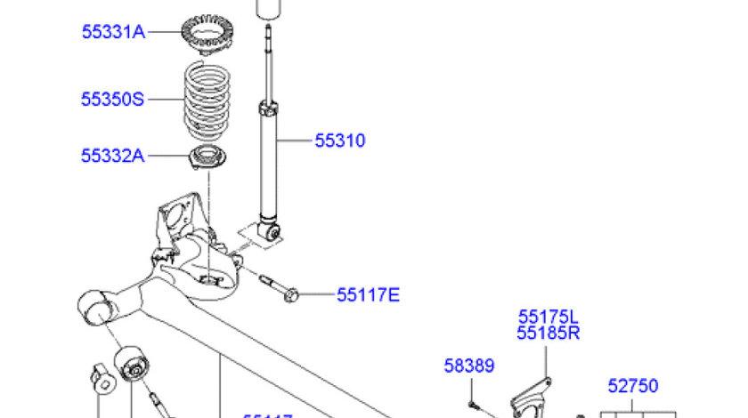 Bucsa punte spate Hyundai Accent III HYUNDAY OE 55160-1E000