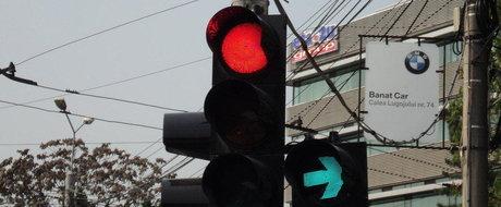 Bucurestiul primeste noi semafoare verde intermitent care vor sa fluidizeze traficul