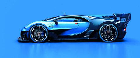 Bugatti arunca in aer internetul cu noul sau Vision Gran Turismo