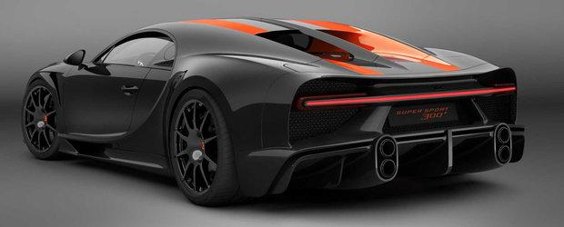 Bugatti baga in productie masina care a prins 490.48 km/h. Uite AICI cum arata Chiron Super Sport 300+!