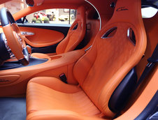 Bugatti Chiron cu 0 km la bord