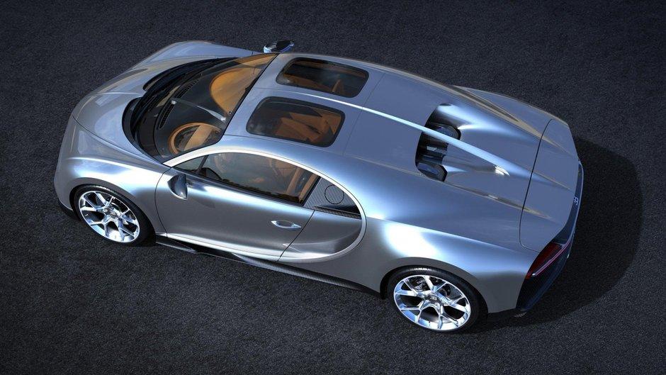 Bugatti Chiron cu Sky View