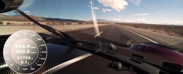 Bugatti Chiron e istorie. Koenigsegg Agera RS bate din nou recordul la proba 0 - 400 - 0 km/h