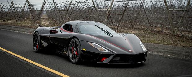 Bugatti Chiron este OFICIAL de domeniul trecutului. SSC TUATARA a atins 532.7 km/h si este cea mai rapida masina din toate timpurile