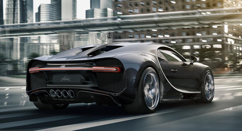 Bugatti Chiron Noire Sportive si Noire Elegance