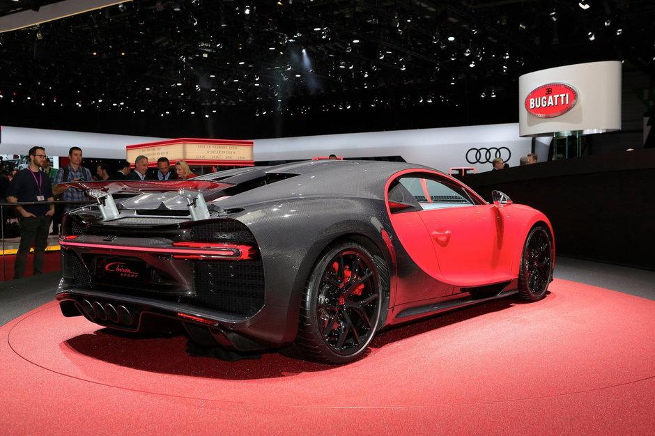 Bugatti Chiron Sport - Poze de la Geneva