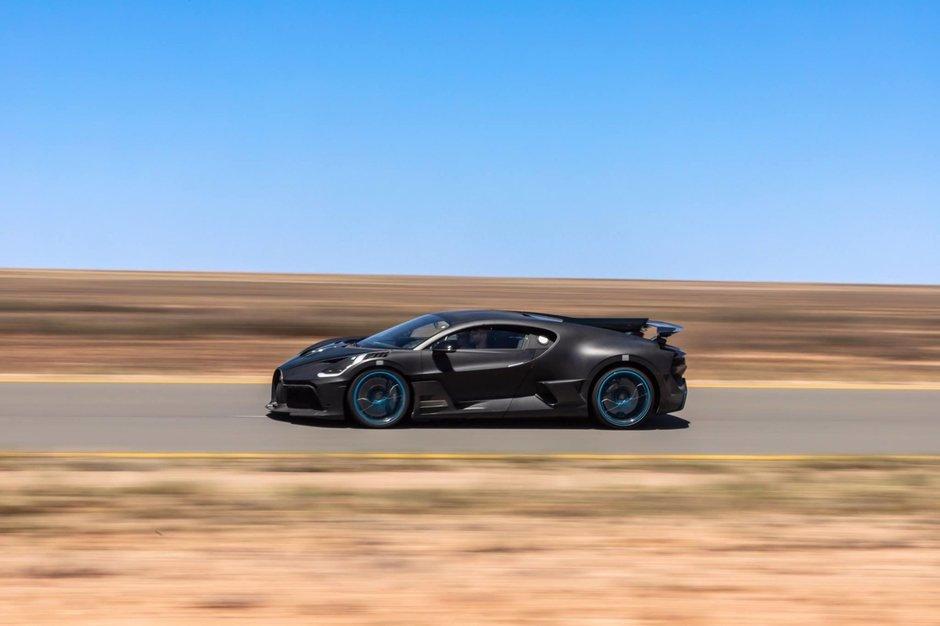 Bugatti Divo in teste