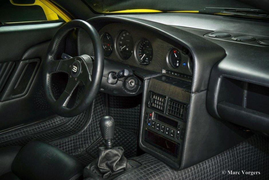 Bugatti EB110 SS de vanzare