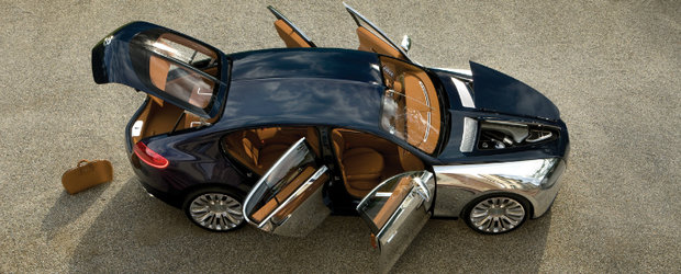 Bugatti Galibier intra in productia de serie. De anul viitor!