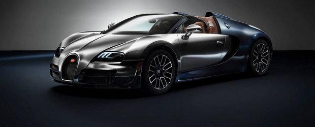 Bugatti incheie seria Legends cu un Veyron dedicat lui Ettore