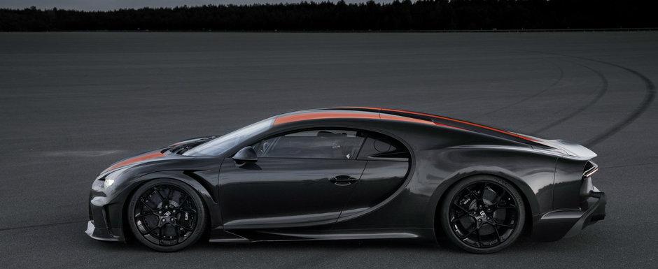 Bugatti invarte cutitul in rana cu CLIPUL OFICIAL. Detalii despre masina care a atins 490.4 km/h